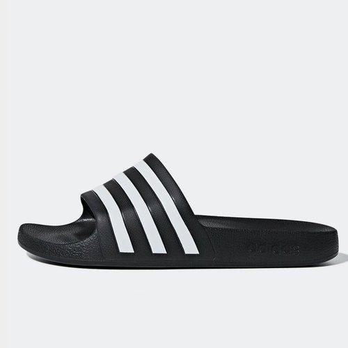 0982ceda6 Duramo Slide Shower Sandals. Black White