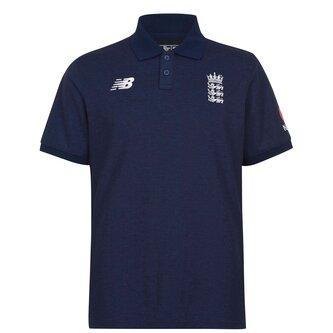 ECB England Cricket Polo Shirt Mens