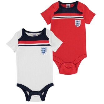 England 1982 2 Pack Baby Body Suits