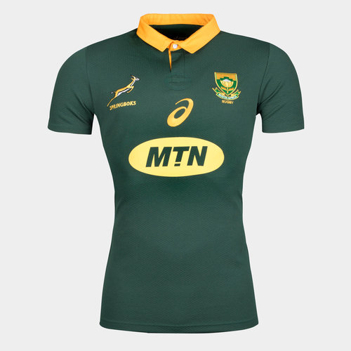 South Africa Springboks 2017/18 S/S Home Pro Rugby Shirt