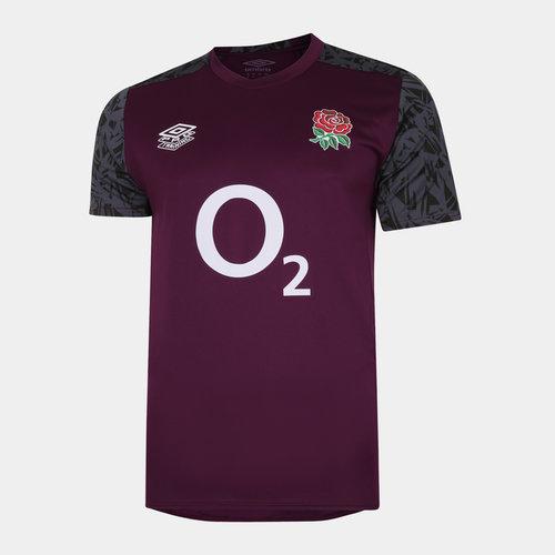 England Rugby Gym T Shirt Mens