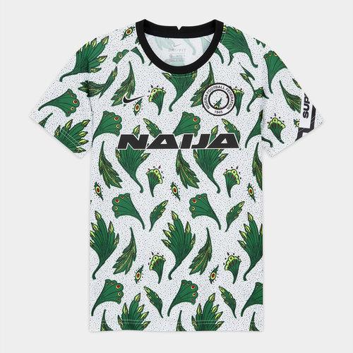 Nigeria Pre Match Shirt 2020 Junior