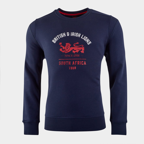 British and Irish Lions Crew Sweatshirt Mens