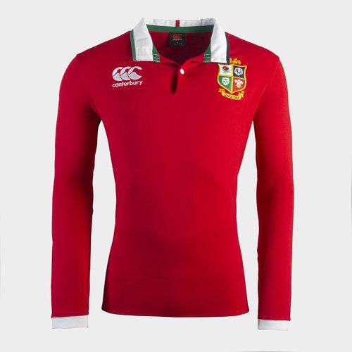 British and Irish Lions Long Sleeve Classic Shirt 2021