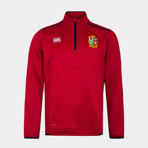 British and Irish Lions Quarter Zip Fleece Mens