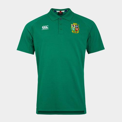 British and Irish Lions Pique Polo Shirt Mens