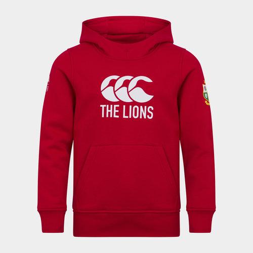 British and Irish Lions Logo Hoodie Junior Boys