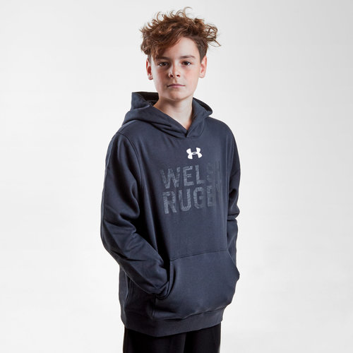Wales WRU 2018/19 Kids Graphic Hooded Rugby Sweat