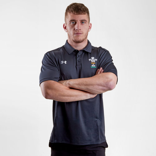 Wales WRU 2018/19 Players Rugby Polo Shirt