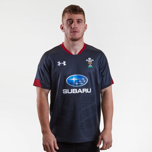 Wales WRU 2018/19 Alternate S/S Replica Rugby Shirt