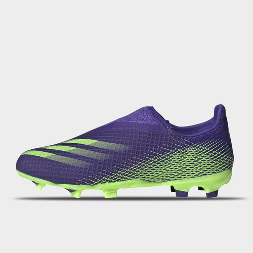 X Ghosted .3 Laceless Childrens FG Football Boots