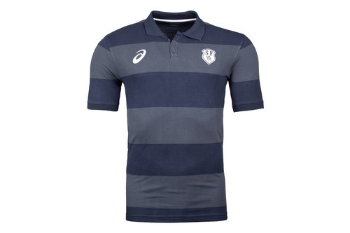 Stade Francais 2017/18 Supporters Rugby Polo Shirt