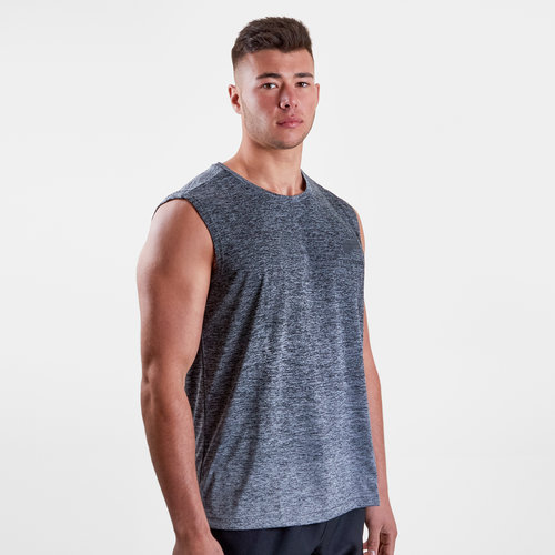 New Zealand All Blacks 2018 Players Gradient Fade Training Singlet