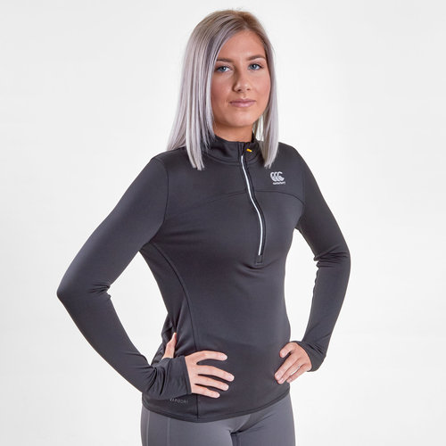 Vapodri Ladies Poly 1/4 Zip Training Top