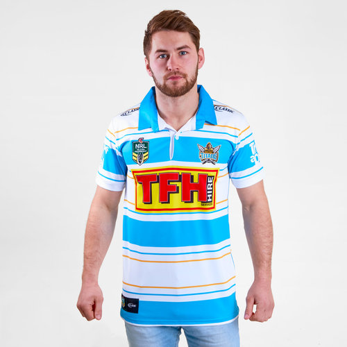 Gold Coast Titans 2018 NRL Heritage S/S Rugby Shirt