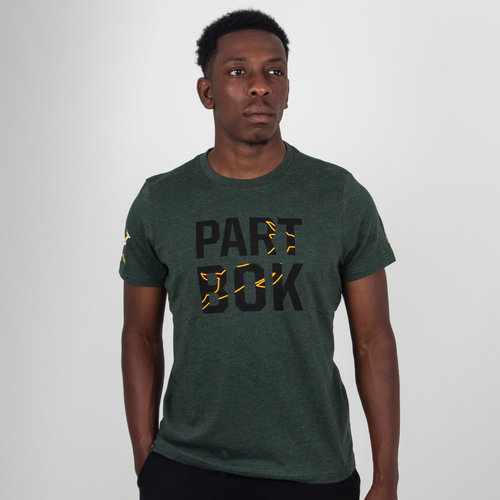 South Africa Springboks 2018/19 Graphic Rugby T-Shirt