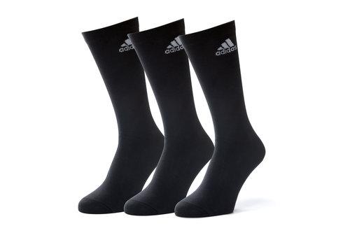 3 Pk adidas Performance Crew Thin Socks