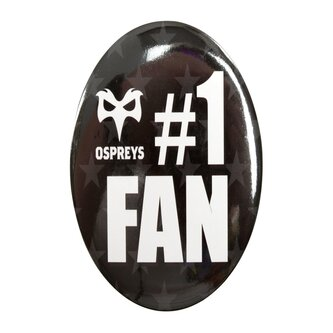 Ospreys Supporters Fan Button Badge