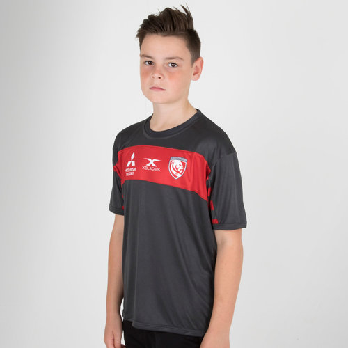 Gloucester 2018/19 Kids Rugby Training T-Shirt