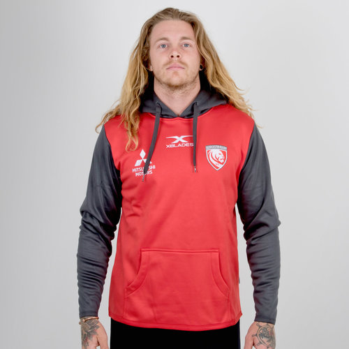 Gloucester 2018/19 Overhead Hooded Rugby Sweat
