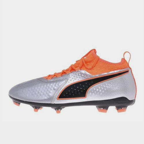 One 2 Leather FG Football Boots Mens