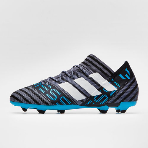 e20e60474 Nemeziz Messi 17.2 FG Football Boots. Grey White Core Black