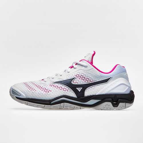 mizuno wave stealth v white netball trainers reviews