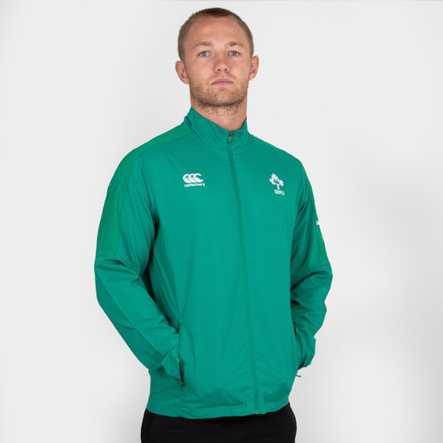 Ireland IRFU 2018/19 Players Presentation Rugby Jacket