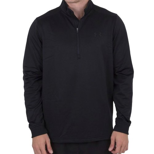 Armour Fleece Half Zip Top Mens