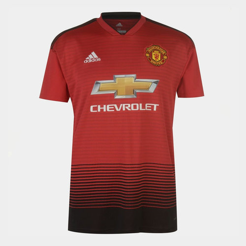 Manchester United Home Shirt 2018 2019