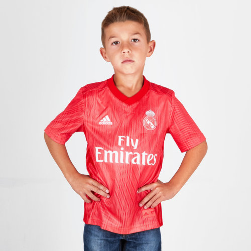 Real Madrid 18/19 3rd Youth S/S Football Shirt
