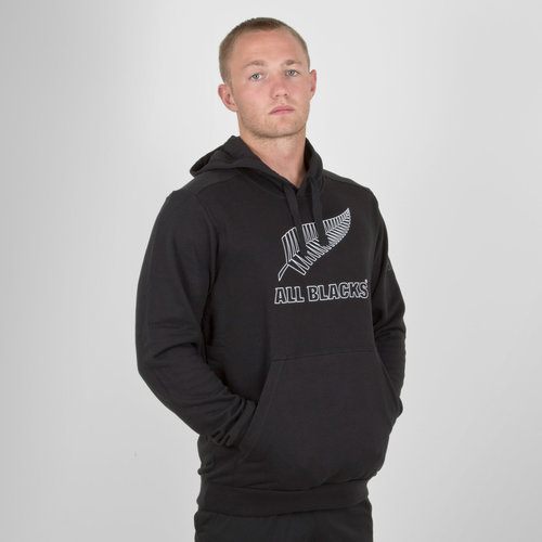 New Zealand All Blacks 2018/19 Supporters Hooded Rugby Sweat
