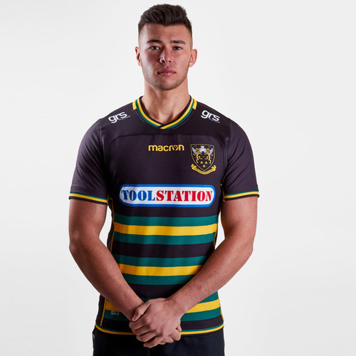 Northampton Saints 2018/19 Home S/S Authentic Test Rugby Shirt