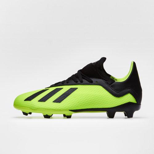 248bb7dc0c0 X 18.3 Kids FG Football Boots. Solar Yellow Core Black Solar Yellow