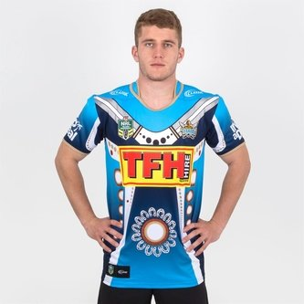 Gold Coast Titans NRL Indigenous Rugby Shirt Mens