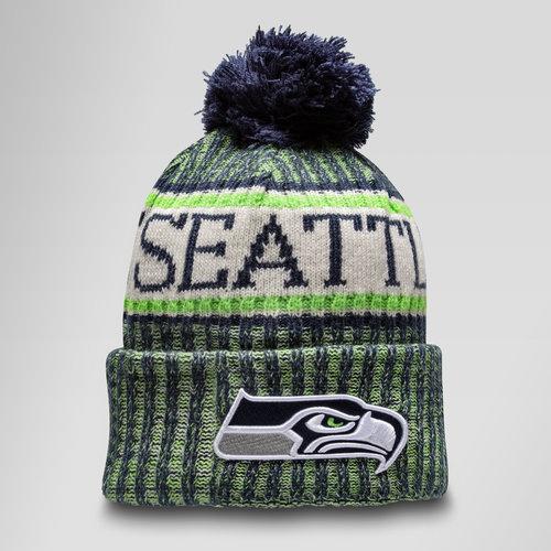 NFL Seattle Seahawks Sideline Bobble Knit Hat