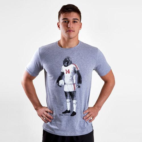 Gorilla Graphic Rugby T-Shirt
