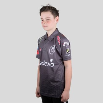 Army Rugby Short Sleeve Polo Shirt Juniors
