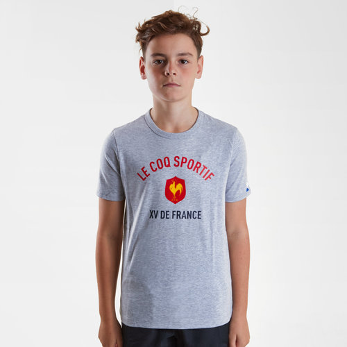 France 2018/19 Kids Rugby T-Shirt