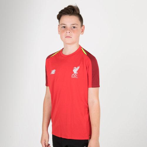 Liverpool FC 18/19 Elite Kids Football Training Shirt