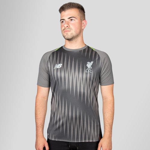 ae332111c Liverpool FC 18/19 Elite Matchday Football Training Shirt - No Sponsor. Grey