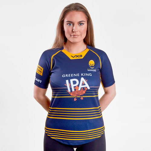 Worcester Warriors 2018/19 Ladies Home Replica Rugby Shirt