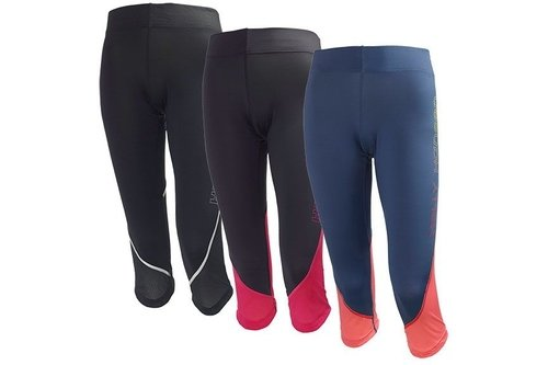 Womens Pace 2 Running 3/4 Tights