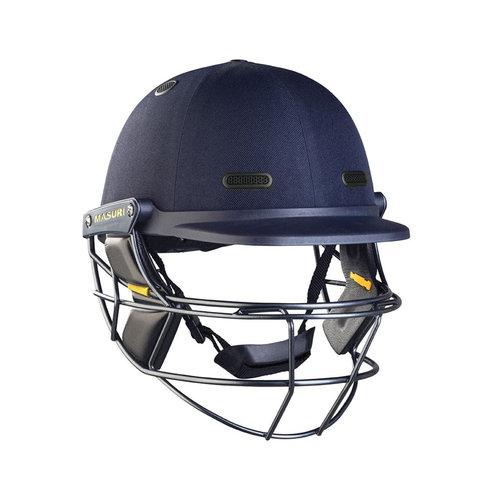 Vision Series ELITE Cricket Helmet Titanium Grille - Navy