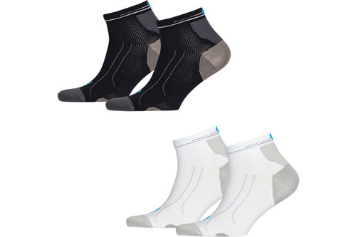 Cell Performance Running Lightweight Quarter Socks