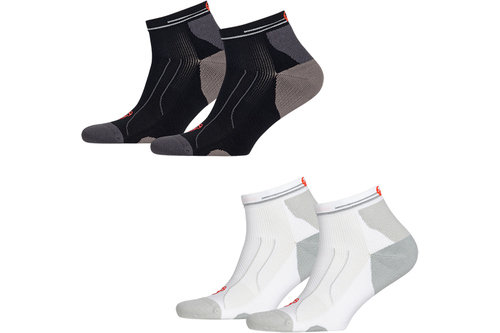 Cell Performance Running Midweight Quarter Socks