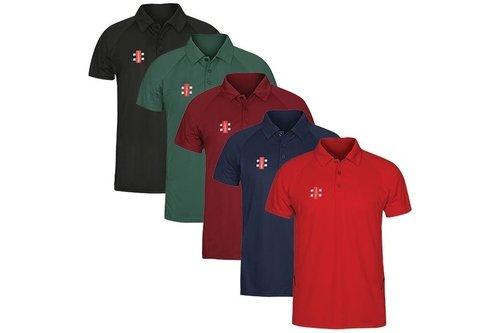 Gray Nicolls Matrix Polo Shirt - Senior
