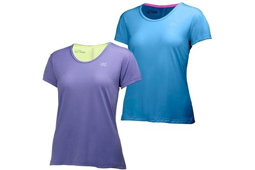 Womens Aspire Lifa Flow Short Sleeve Top
