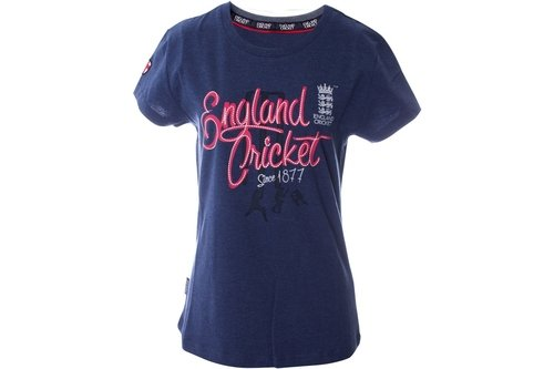 Cricket Classic Crew Neck T Shirt Womens