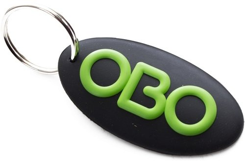 Oval Logo Key Ring